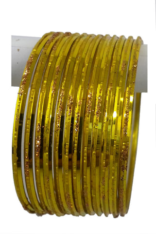 Bracelets Indien Jaune - Lot de 12 - Narkis Fashion