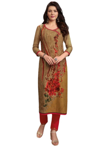 Ensemble femme marron Kaaviya - 38 et 42 - Narkis Fashion