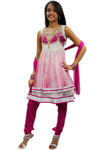 Robe Indienne Fille Anandhi  - 7 ans - Narkis Fashion