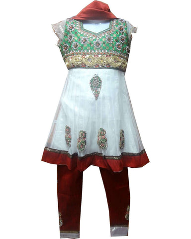 Salwar Fille Marshia - 5 et 6 ans - Narkis Fashion