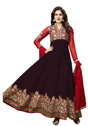 Bollywood Salwar Marron Mastani - Narkis Fashion