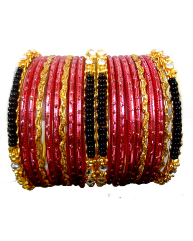 Bracelets Bollywood Tanya - Rose saumon