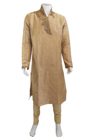 Costume bollywood doré Reynash - Taille 40