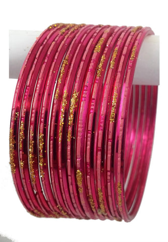 Bracelets Indien Rose - Lot de 12