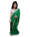 Sari Bollywood Shreya Vert - Narkis Fashion