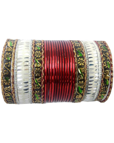 Bracelets Indien Bordeaux - Lot de 30 - Narkis Fashion