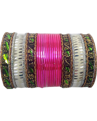 Bracelets Indien Rose - Lot de 30 - Narkis Fashion