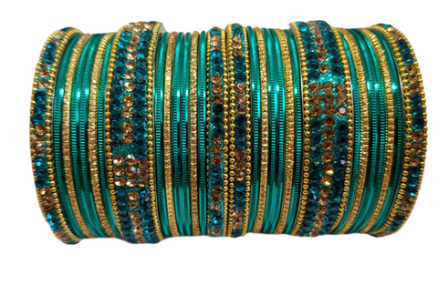 Bracelets bollywood Turquoise - Narkis Fashion