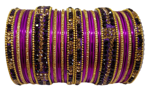 Bracelets bollywood Violet - Narkis Fashion