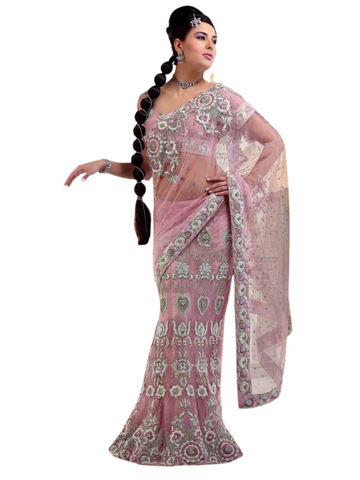 Lehenga sari rose Shamira - Narkis Fashion