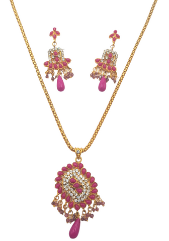 Collier Rose Swetha