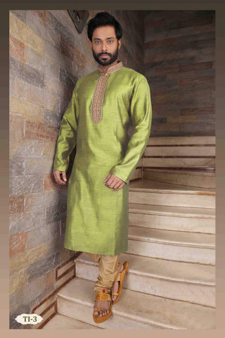 Costume Indien Vert Aamir - Taille 42 - Narkis Fashion
