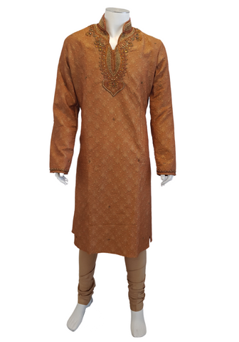 Costume Indien orange Vihaan - Taille 42