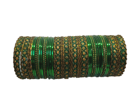 Bracelets Filles Vert - Lot de 48 - Narkis Fashion