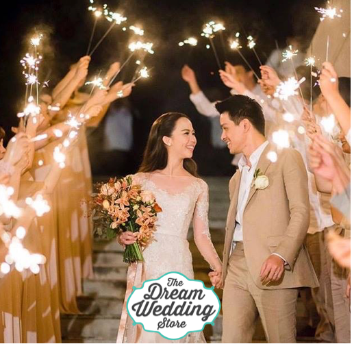 How to make a difference in your Wedding, using Heart Shaped Sparklers
