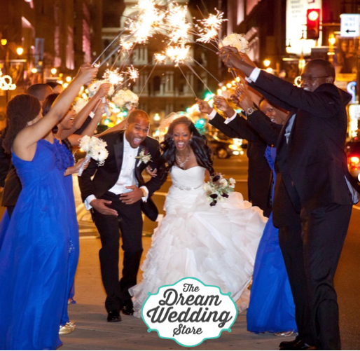 How to to use Wedding Sparklers for your Magical Wedding!