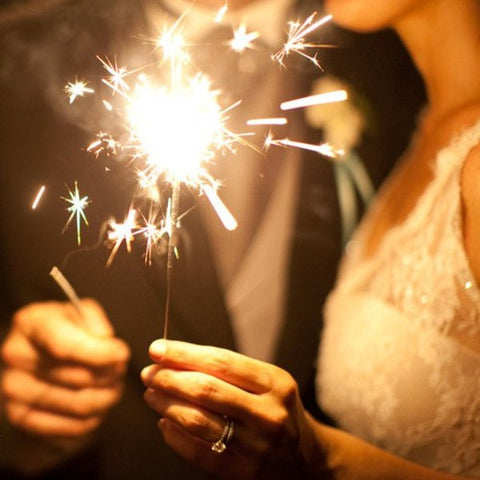 Sparklers from The Dream Wedding Store