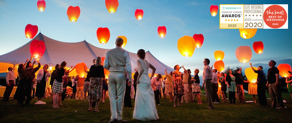 Sky Lanterns are an amazing addition to your Dream Wedding Celebration