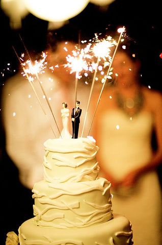 Wedding Sparklers from The Dream Wedding Store