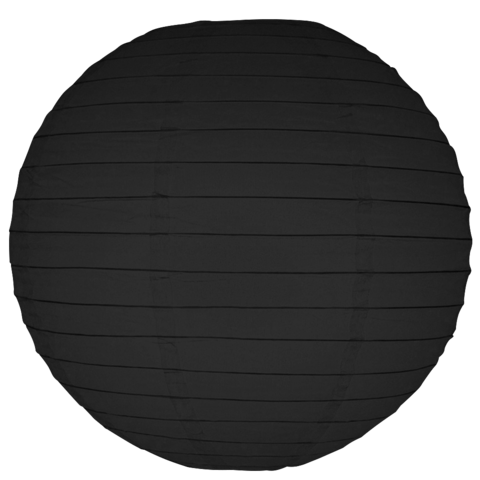 "Paper Lanterns - Black 12"" (6 lanterns per pack)"