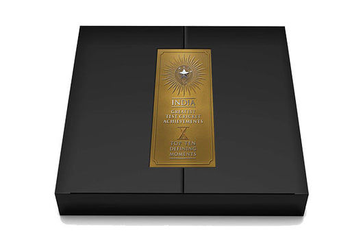 India's Greatest Test Cricket Achievements - Collector's Edition Platinum Book including Ticket to Gala Legends Dinner