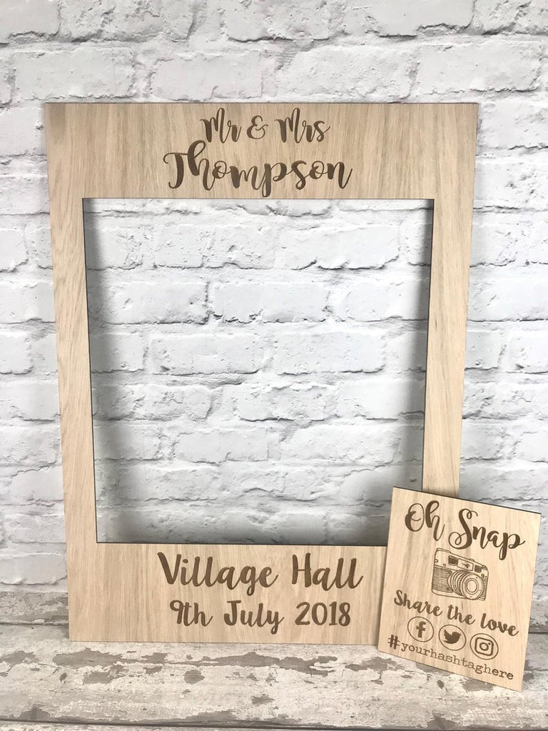 Selfie Frames Not Just For Weddings
