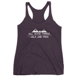 Wild and Free - Women's tank top