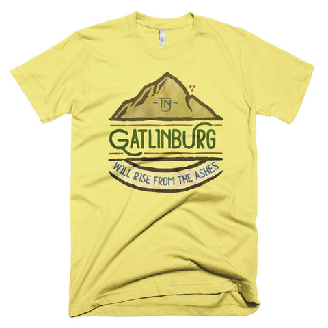 Gatlinburg Will Rise - Short sleeve men's t-shirt
