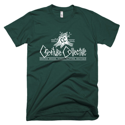 Creature Collective White Logo - Short sleeve men's t-shirt