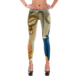 Famous Art - Fra Angelico - Annunciation -  Leggings