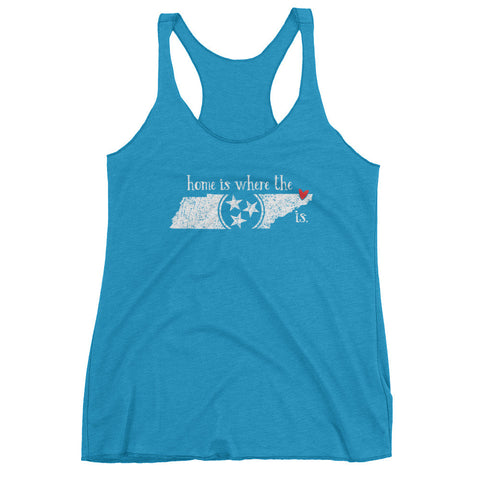 Home is where the heart is - Bristol, TN - Women's tank top