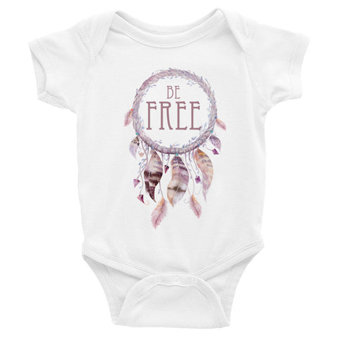 Be Free Dreamcatcher - ONESIE Infant short sleeve one-piece