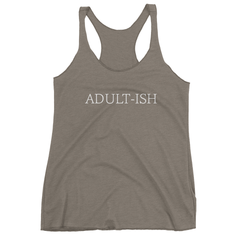Adult-ish - Women's tank top - Creature Collective