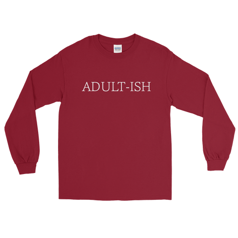 Adult-ish - Long Sleeve T-Shirt - Creature Collective