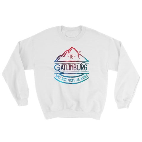 Gatlinburg Will Rise Watercolor - Sweatshirt