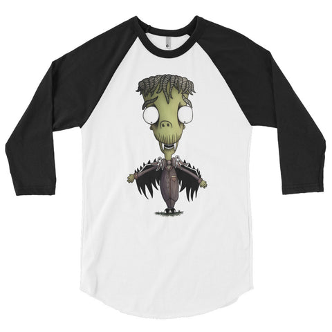 Little Vincent the Vampire - 3/4 sleeve raglan shirt