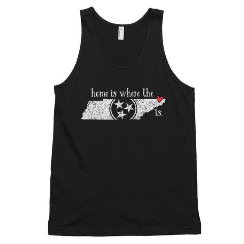 Home is where the heart is - Bristol, TN - Classic tank top (unisex)