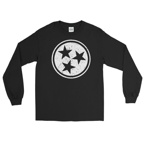 TN Circle and Stars - Long Sleeve T-Shirt