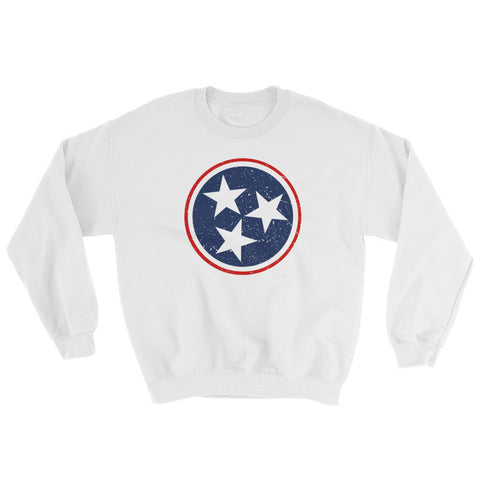 TN Circle and Stars - Navy and Red - Sweatshirt