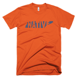 Tennessee Native Navy Print - Short sleeve men's t-shirt