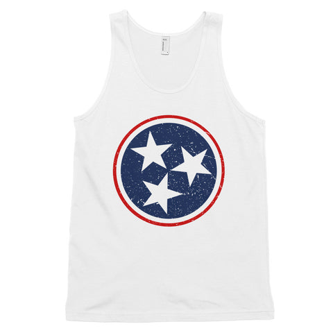 TN Circle and Stars - Navy and Red - Classic tank top (unisex)