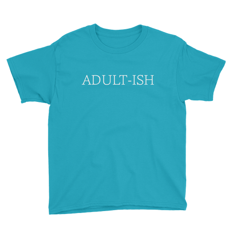 Adult-ish - Youth Short Sleeve T-Shirt - Creature Collective