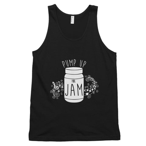 Pump up the Jam Music Chord - Classic tank top (unisex)