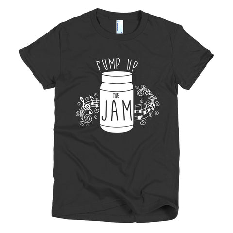 Pump up the Jam Music Chord - Short sleeve women's t-shirt