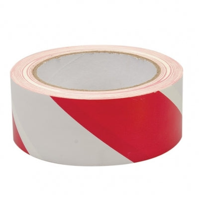 Red and white hazard tape | Conspicuitytape.co.uk