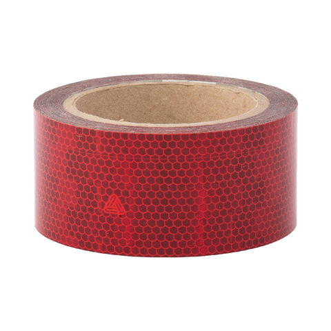 Avery V-6700 Red Rigid Conspicuity Tape 12.5 Meter Roll - ConspicuityTape.co.uk
