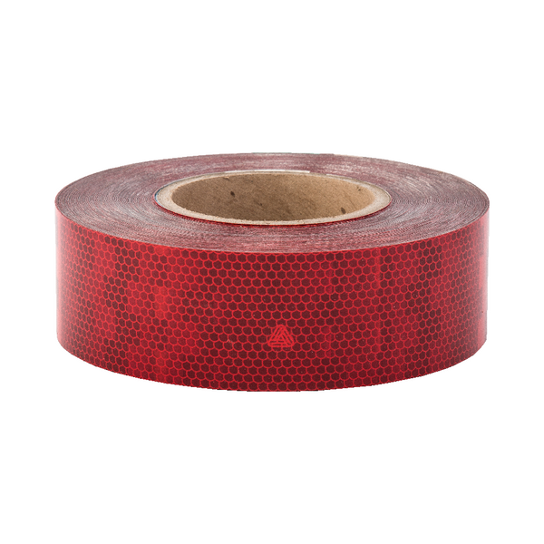 Avery V-6700 Red Rigid Conspicuity Tape 50 Meter Roll - ConspicuityTape.co.uk