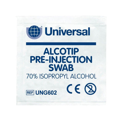 Isopropyl Alcohol Cleaning Wipes 100x Pack