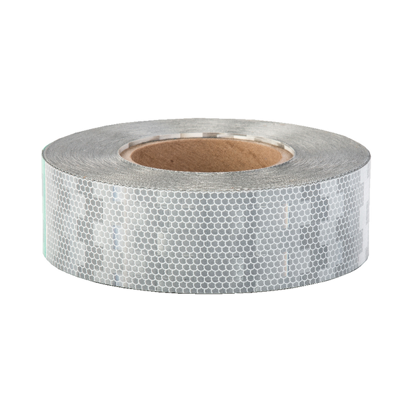 Avery V-6700 White Rigid Conspicuity Tape 50 Meter Roll - ConspicuityTape.co.uk