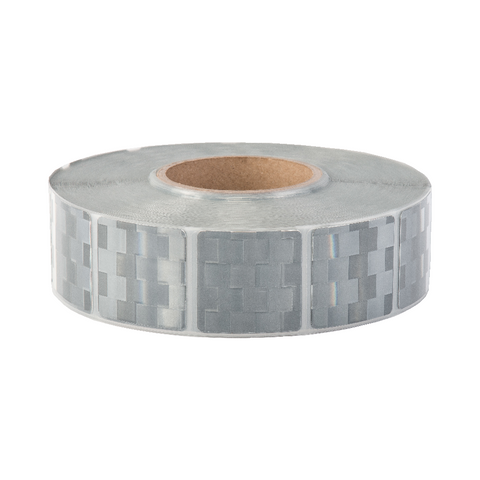 Avery V-6790 White Segmented Conspicuity Tape 50 Meter Roll - ConspicuityTape.co.uk